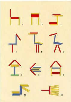Even more designs for painted Popsicle sticks Montessori Activities, Motor Activities, Kindergarten Activities, Preschool Activities, Reptiles Preschool, Math Patterns, Busy Boxes, Popsicle Sticks, Craft Stick Crafts