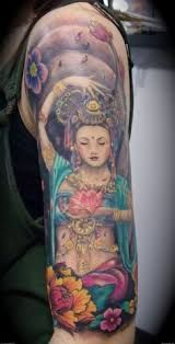 tattoo ideas hindu colourful godess - Google Search