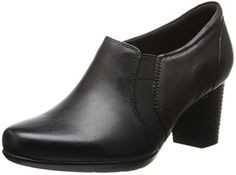 pumps: Clarks Women's Promise Holly Dress Pump,Dark M US Oxford Shoes Heels, Fab Shoes, Shoe Boots, Black Pumps, Clarks, Heeled Mules, What To Wear, Womens Fashion, Dark Brown
