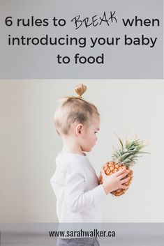 Are you confused about why, how, and what foods to introduce to your baby? Break these 6 rules to make your life SO much easier! How To Introduce Yourself, Make It Yourself, How To Make, Parent Resources, First Time Moms, Kids Nutrition, Baby Feeding, Baby Care, Eating Well
