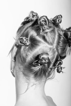 Hair Designs, Hair Inspo, Ear, Artwork, Work Of Art, Hair Models, Auguste Rodin Artwork, Artworks, Illustrators
