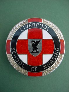 Nurses badge Liverpool School of Nursing made by Thomas Fatorini.   I still have mine.
