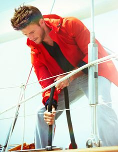 Clint Eastwood's Son Actor Scott Eastwood in Newport - Town & Country