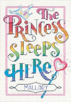 Counted Cross Stitch, The Princess