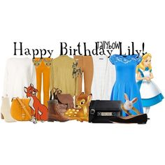 (Alice on the far right)  by tallybow http://www.polyvore.com/happy_birthday_lily/set?id=181388615