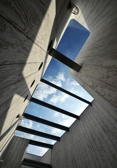 Sky lights let the light flood in without compromising a contemporary look #architecture #windows #REHAU