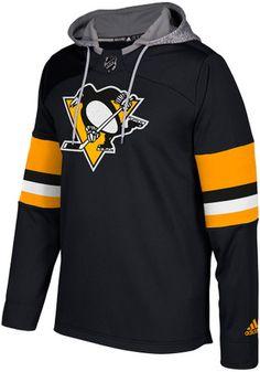 Adidas Pittsburgh Penguins Mens Platinum Jersey Hood Salary Cap f8eaf37ae