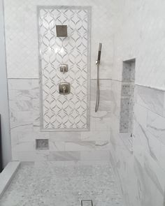 Best Ribbon Waterjet Mosaic White Thassos Carrara Marble - Thassos white marble bathroom