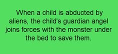 Save the child.  I picture a Kelsey Grammar, David Hyde Peirce thing going on.