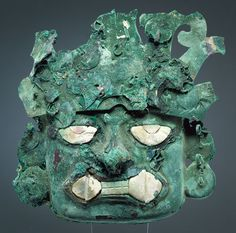 Ornamental Mask [Peru; Moche] (1980.563.18) | Heilbrunn Timeline of Art History | The Metropolitan Museum of Art