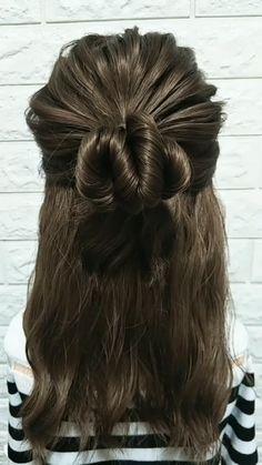 # types of Braids simple Hairstyle Tutorial 835 Medium Hair Styles, Curly Hair Styles, Natural Hair Styles, Braided Hairstyles, Cool Hairstyles, Elven Hairstyles, Celebrity Hairstyles, Hair Upstyles, Long Hair Video