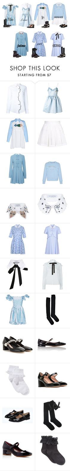 """Amore - Always"" by mikki102 ❤ liked on Polyvore featuring VIVETTA, Topshop, RED Valentino, Boohoo, Miu Miu, Marc Jacobs, John Lewis, Rochas and HUE"