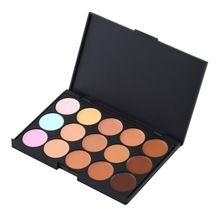 Maquiagem New 15 Color Pro Maquiagem Corretivo Camouflage Palette Creme Facial escovas Cosméticas da composição MAIS Popular alishoppbrasil