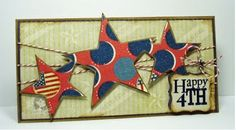 Gorgeous Independence Day Card