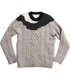 Arrgh! Sold out, but SO cool. Reiss Dip-Dye knit.