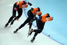 The most dominant performance by a nation at these Winter Olympics has not been by Russia or any of the Scandinavians. Instead, it has been a case of brilliant orange. The Dutch monopoly of success in the speed skating has been stunning. They go home with 23 medals, four clean sweeps, and fifth place in the overall medal table. Their solitary medal from another sport was in short-track speed skating. They are the kings and queens of this stuff.