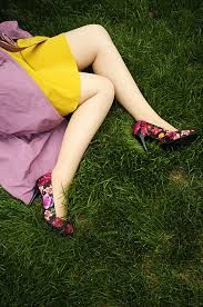 Image result for shoes on grass