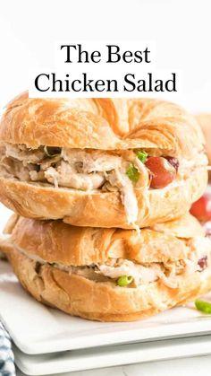 Chicken Salad Recipes, Beef Recipes, Salad Chicken, Cooking Recipes, Dinner Salads, Easy Dinner Recipes, Easy Recipes, Southern Recipes, Animales