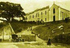 Convento e capela da igreja, em 1915 -  Lucas Ramirez