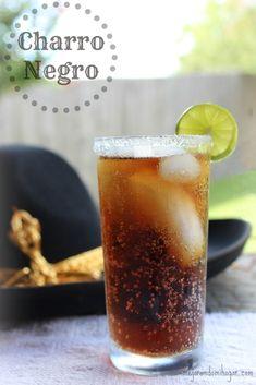 Receta para preparar bebida Charro Negro. Mexican Drinks