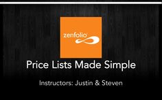 Price Lists Made Simple