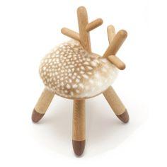 Bambi chair #deer #stool #antlers