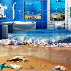Epoxy on pinterest for Decoration 3d sol