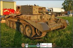 "Centaur Renovation in Poland has begun. Centaur was tank similar to Cromwell. It was one of the couple tanks used by Polish 1st armored division in IIWW. ""Black devils"" nick name of division's soidiers fought with german from 1st september 39 till 5th may 45. ""Cześć i chwała bohaterom""."