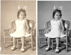 Photo restoration prices that are reasonable and won't break you. http://www.fixingphotos.com/ #photorepair