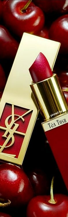❇Téa Tosh❇YSL Red Colour Palette, Pin Logo, Beautiful Lips, Life Savers, Shades Of Red, Red Lips, Red Gold, Beauty Makeup, Ysl Beauty