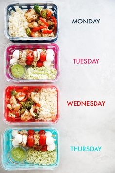 Skip To RecipeToday we are taking minimal ingredients, and making them last! Two awesome dishes made into 8 easy and … Skip To RecipeToday we are taking minimal ingredients, and making them last! Two awesome dishes made into 8 easy and … Best Meal Prep, Lunch Meal Prep, Healthy Meal Prep, Easy Healthy Recipes, Healthy Drinks, Lunch Recipes, Easy Meals, Weekly Meal Prep, Easy Healthy Lunch Ideas