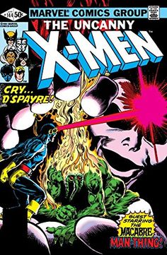 Uncanny X-Men (1963-2011) #144:   Know fear as D'Spayre will mean your end.  Can Man-Thing help Cyclops overcome his own fear and escape the death-grip of D'Spayre?