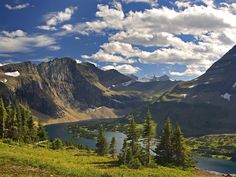 Hidden Lake Vista, Glacier National Park, Montana, USA