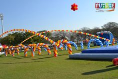 Imagine Future Events giving promotional campaign on games now a days. We have the specialty for making anything from balloons. For more Information  Call : 042 677789 Mobile/WatsApp : 0508788400 Email : info@imagine-uae.com #games #dubai #mydubai #ballons #children #summer #summergames #getwet #poolgames #slides #bouncyslides