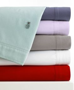 lacoste bedding, brushed twill sheet sets - lacoste - bed & bath