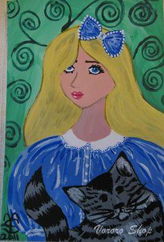 Print of Alice in Wonderland