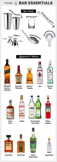 Bar Necessities: Bar Essentials Every Cocktail Geek Needs | Yummy Ph