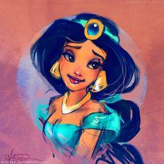 Jasmine by `alicexz on deviantART