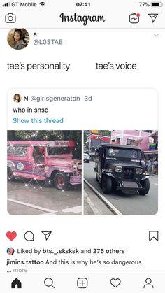 That's the tea Bts Memes, Bts Love, Disney Jokes, Bts Stuff, About Bts, Bts Video, Bts Taehyung, Taekook, Gin