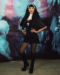 Pin for Later: 69 Sexy Costume Ideas For Your Hottest Halloween Yet Nun