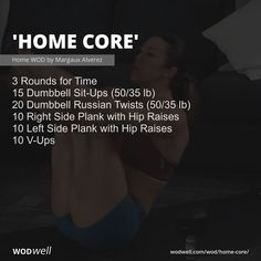 Shred Workout, Crossfit Workouts At Home, Crossfit Abs, Wod Workout, Abs Workout Routines, Dumbbell Workout, Strength Workout, Spartan Workout, Pregnant Crossfit