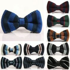 Men's Knit Bow Ties   Free Shipping   Under $5