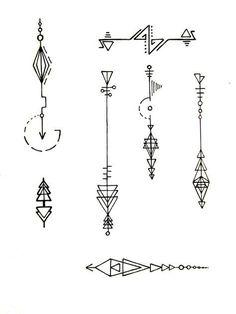 Ideas Tattoo Lotus Unalome Symbols For 2019 Mini Tattoos, Body Art Tattoos, Small Tattoos, Tattoo Arrow Meaning, Henna Designs, Tattoo Designs, Border Tattoo, Tattoo Minimaliste, Geometric Tatto