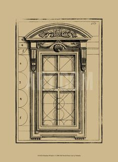 Palladian Window Art Print by Andrea Palladio at Art.com