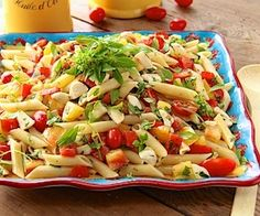 Penne Pasta Summer Salad  Have you ever tasted the essence of summer? This Penne Pasta Salad w/ Fresh Mozzarella & Heirloom Tomatoes captures the season perfectly! Please click on the photo in Yumgoggle to get to this delicious recipe. Enjoy!