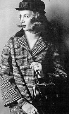 Coat By Peck & Peck, Photograph By Diane And Allan Arbus, 1959 | Flickr - Photo Sharing!