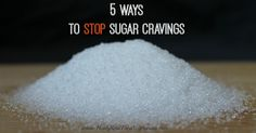 "We all know that too much sugar is not good for us. But how much sugar is ""too much""? What does it take to stop sugar cravings?"