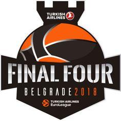 Logotipo Final Four 2018 Belgrado