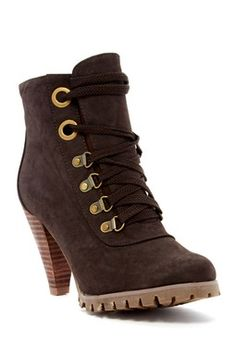 Camps Lace-Up Bootie