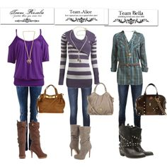 Twilight outfits winter, created by lr23062596 on Polyvore